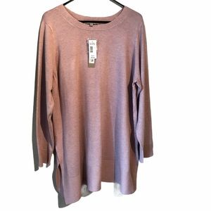 Cyrus Finely Knit Sweater Orchid Women's 2X Plus